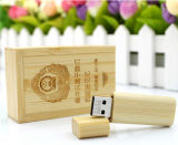 Bambu de madeira do USB 3.0 2.0 Pendrive do bambu 16GB, USB da madeira