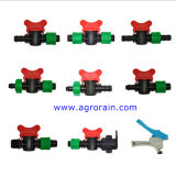 Valvola della multi valvola di plastica di irrigazione mini per il tubo del PE del nastro del gocciolamento