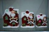 Sostenedor de vela de navidad decoración del hogar artesanía