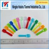 Mini colher de plástico para iogurte descartável personalizado