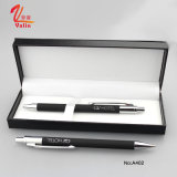 Promocional Metal Clik Pen Negro Color Business Pen con Caja