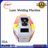 100With200W YAG hohe Präzisions-Schmucksache-Laser-Punktschweissen-Maschine