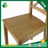 高品質のカシのホテルのアパートのための安価でエキゾチックな十字の背部椅子