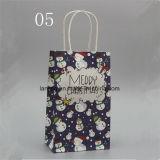 Bw213 moda saco de presente de papel de Natal com alça