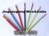 Lsoh XLPE ignifuge a isolé le câblage cuivre Non-Engainé Wdz-Byj
