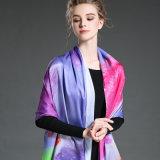 A senhora nova Dyeing Longo Lenço Roxo