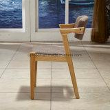 特別なArmrest (SP-EC848)が付いている余暇の純木の食堂の椅子