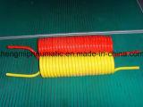 Tubo flessibile arancione di ritrazione del poliuretano (10*6, 5m, 7.5M)