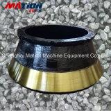 Peças elevadas do triturador do cone do aço de manganês