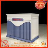 Comptoirs de caisse de commerce en bois Compteurs de caisse portables à vendre