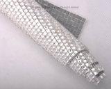 Strato di cristallo del Rhinestone di Hotfix, strato della maglia di 24*40cm Hotfix
