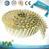 Nailer de bobina de cobertura pneumática Crn45