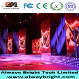 Schermo dell'interno di colore completo LED dell'affitto P3.91 per la prestazione della fase