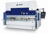 We67k 300t/3200는 자동 귀환 제어 장치 전동 유압 CNC 구부리는 기계 이중으로 한다