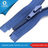 Extremo abierto #5 que separa la cremallera de nylon para la chaqueta