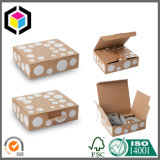 Litho Print Color Kraft Paper Packaging Box with Lock Tab