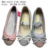 De kinderen vormen de Zoete Vlakke Schoenen van de Kleding van het Meisje van de Ballerina Bowknotballet (mm171)