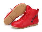 Прелестный кожаный ботинок для девушки Ktkd-404