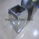 新しい装飾の商業モールのための物質的なステンレス鋼の植木鉢