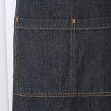 Хлопка джинсовой ткани кухни рисбермы держатель 100% бака устанавливает рисберму Bib регулируемого человека полную (RS-170406)