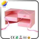 Kundenspezifischer Entwurfs-Geschenk-Kasten-Weihnachtsgeschenk-Papierspitzenkasten