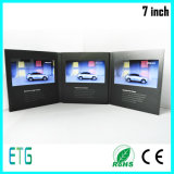 7 Bildschirm-videobroschüre des Zoll-HD für Geschäfts-Arbeit