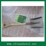 Pelle en bois à bêche de traitement de pelle pour cultiver et faire du jardinage