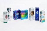 La hoja de plata E-líquido Caja de regalo de lujo, caja de embalaje E-líquido