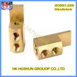 Parte traseira CNC de bronze para eletrodoméstico (HS-TP-016)