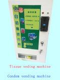 Distributeur automatique à jetons de tissu et de condom