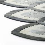 판매를 위한 OEM 패턴 검정 스테인드 글라스 모자이크 타일 장