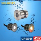 1PCS 24V helle multi Unterwasserfarbe des Edelstahl-LED
