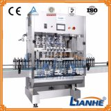 Máquina de etiquetado automática llena de la máquina de rellenar del agua que capsula 3 en una