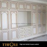 Gebrauchsfertiges Küche-Schrank-vollständiges Haus-hölzerner Schrank-China-Hersteller Tivo-035VW
