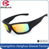 Les lunettes de soleil anti-éblouissantes de Revo de haute performance faisant du vélo l'extrémité de recyclage folâtrent la lunetterie