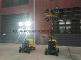 5kw 디젤 엔진 발전기를 가진 휴대용 등대 Rplt-1600