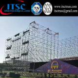 강철 비계와 알루미늄 Truss 지붕 구조