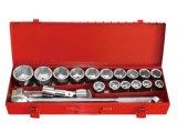 """Type 1 de série de la clé à douille d'outil manuel 21PCS 3/4 réglé """" 20mm"""