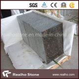 Mattonelle Polished del granito del Tan Brown per il disegno d'attaccatura del rivestimento della parete esterna