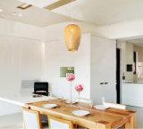Handmade 펀던트 가벼운 천장 램프 장식적인 점화를 길쌈하는 대나무