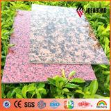 Panneau composé en aluminium de configuration de pierre de certificat de RoHS (AE-501)