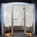 Pièce de sauna de film publicitaire et de vapeur saturée de maison