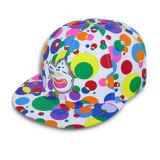 かわいく赤く平らな縁の帽子(JRN066)
