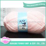 100% 아크릴 털실을 뜨개질을 하는 기술 다채로운 공상 손