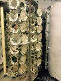 Magnetron di vuoto di Cicel che polverizza metallizzando il cucchiaio di argentatura del macchinario/bicromato di potassio Metallizer di vuoto per le coltellerie di plastica/cucchiai d'argento della plastica del rivestimento
