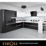 Het de duidelijke Witte Schilderende Keukenkast van de Lak Pu en Meubilair van de Keuken (AP143)