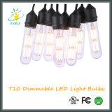 Lâmpada do vidro do Neodymium dos bulbos do filamento do diodo emissor de luz de Stoele T10/T30 Edison