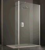 Badkamers 8mm het Aangemaakte Comité van de Terugkeer van de Muur van de Douche van Wetroom van het Glas