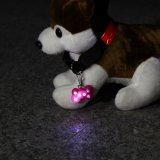 Mini indicatore luminoso di Keychain dell'animale domestico di figura dell'osso più poco costoso