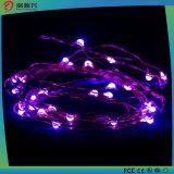Indicatori luminosi della stringa, fune metallica viola calda luminosa eccellente di colore Indicatore-Viola